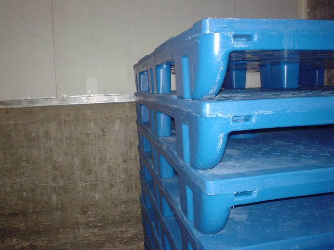 Slip Sheet Pallet Stack