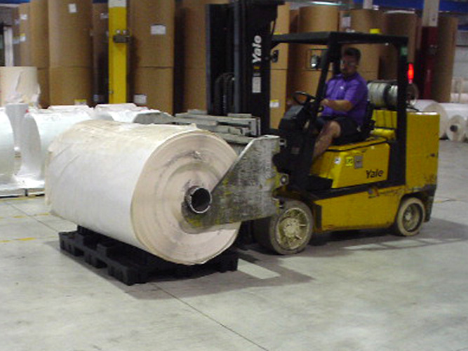 Roll Pallet Durability