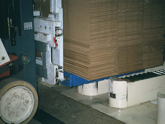 Picking Stack Up From Conveyor