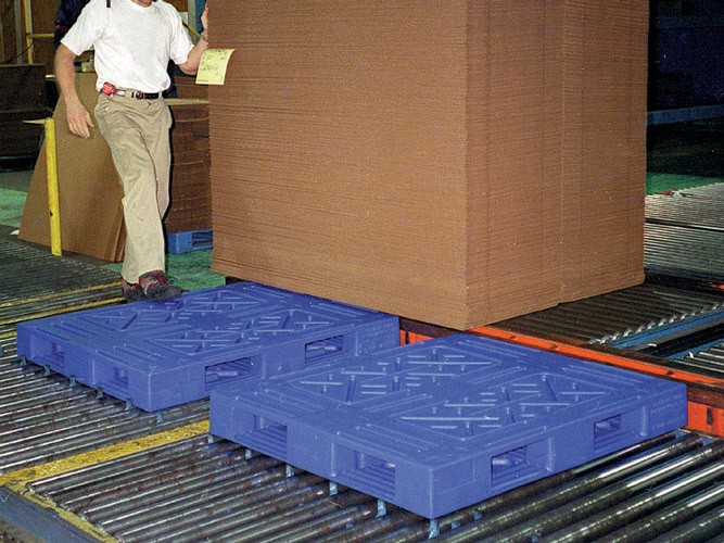 Double Sided Plastic Pallets